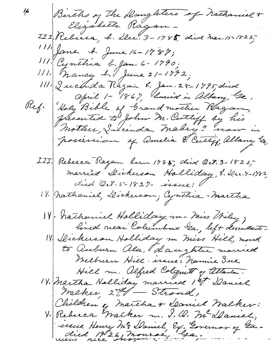 Amelia E. Cutliff Notes, Page 4